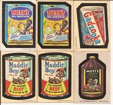 Wacky Packages Trading Card Lots