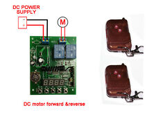 RF Radio Remote Control Timer switch DC 12V Motor Forward Reverse For Shutter