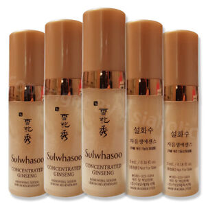 Sulwhasoo Concentrated Ginseng Renewing Serum 5ml (1pcs ~ 20pcs) Sample Newist