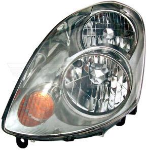 Dorman 1592015 Head Lamp Assembly For 03-04 Infiniti G35