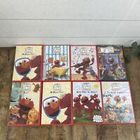 Lot of 8 Sesame Street Elmo's World DVD's.