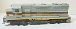 Erie Lackawanna Railroad EMD GP35 Diesel Locomotive Athearn Blue Box HO Powered