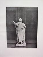 1905 Politica Stampa + Testo ~ Statua Di Chatham