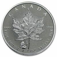 2016 1 oz Canada Silver Maple Panda Privy Coin (Reverse Proof)