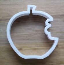 Apple Bite Eaten Cookie Cutter Biscuit Pastry Fondant Stencil FD02