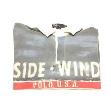 Vintage Polo Side Wind Rugby 1992 1993 92 93 Rare Snow Beach Stadium Ski Bear