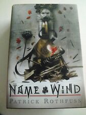 Patrick Rothfuss : The Name of the Wind 10th anniversary double-signed first edn