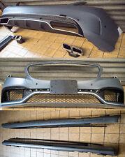 Bodykit für Mercedes C Klasse W205 Stoßstange Front Heck Schweller C63 AMG S