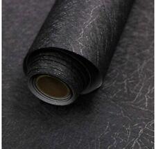 3 Rolls Diy self adhesive wallpaper Black Texture rolls sheets 15.7� X 118�