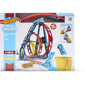 Hot Wheels Track Builder Unlimited Triple Loop Kit Brand New Kids Xmas Gift FF