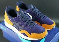 ASICS GEL LYTE V PEACOAT / PEACOAT SIZE UK 7 EU 41.5 OG DS SUEDE TRAINERS SHOES