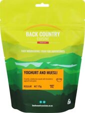 Back Country Cuisine Freeze Dried Meal - Yoghurt And Muesli - Small
