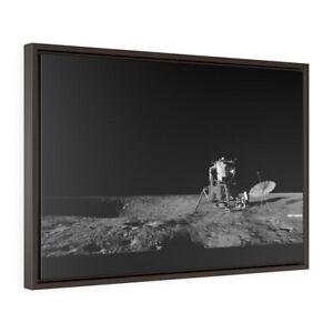 Apollo 12 - Panorama photo of Lunar Module standing on the moon - NASA 1969