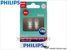 NEW! PHILIPS 194R ULTINON LED RED BULBS 194RULRX2 | PACK OF 2