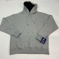 Champion Pullover Hoodie Sweatshirt Men's Size Large Gray Oxford Fleece