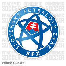 Slovakia National Team Soccer Vinyl Sticker Decal Football UEFA Color Die Cut