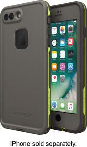 New OEM LifeProof Fre Second Wind Grey Waterproof Case For iPhone 7 Plus 8 Plus