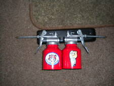 LIMITED EDITION SET OF 2 RETRO REPRODUCTION ESSO OIL CANS( 250cc)