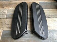 GENUINE Harley Black Streamliner Footboards