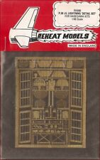 Reheat Models Photo-Etch P.38 J/L Lightning for Hasegawa 1/48 Scale Model Kit