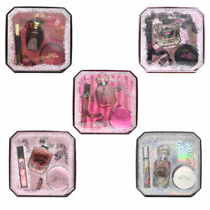 Victoria's Secret 3 Piece Gift Set Edp Rollerball Body Cream Perfume Mist New Vs