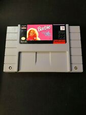 Barbie: Super Model (Super Nintendo Entertainment System, 1993) Cart Only!