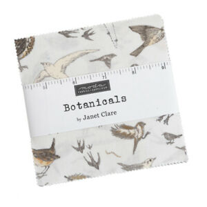 Moda Botanicals Charm Pack - Patchwork Quilting 5 Inch Squares
