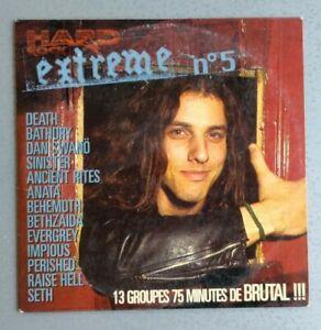 Compilation CD Hard Rock Extrême Volume N°5 - 13 Hits Titres