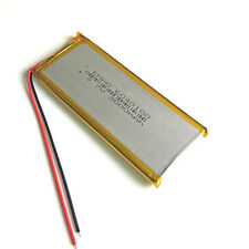 3000mAh 3.7V 6040100 Polymer Li Battery Rechargeable For DVD Mobile phone MP3