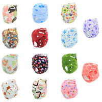 Adjustable Baby Washable Reusable Polyester Cloth Diaper Pocket Nappy Cover Wrap