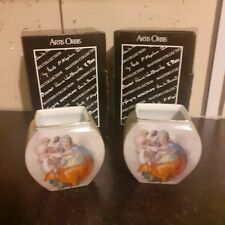 Goebel Limited Edition Pair of Ceramic Vases Boxed Artis Orbis Germany
