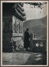 1920's CHINA GRAVURE PAGEANT OF PEKING DONALD MENNIE - A SHRINE