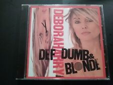 Def, Dumb & Blonde by Debbie Harry (CD, Jul-2005, Wounded Bird) new sealed