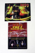 "1998 CORNERSTONE ""ROCKBAND - KISS"" PROMO TRADING CARD [P1] - V/GOOD COND"