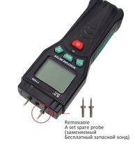 Wood Moisture Meter Humidity Tester Timber Damp Detector Medidor Vochtmeter