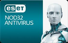 Eset nod 32 antivirus 3 pc/2años  2years
