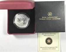 2011 Canada $10 Fine Silver Maple Leaf Forever Coin  #34807