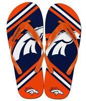 Zehentreter Denver Broncos NFL Football,Sandale,Zehenlatsche,Badelatschen,NEU