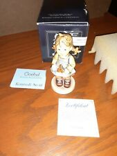 Goebel M J Hummel Figurine flower girl # 548 number
