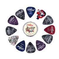 12pcs colorful plectrum acoustic electric musical instrument guitar pick  XZJP
