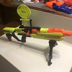 NERF Rival Blaster Jupiter XIX-1000 Edge Soft Dart Gun EUC Guaranteed