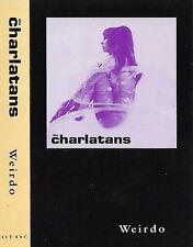 THE CHARLATANS WEIRDO CASSETTE SINGLE 2 TRACKS INDIE ROCK SIT 88C