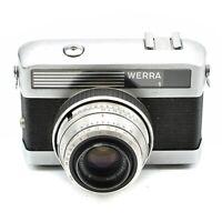 CARL ZEISS WERRA 1E CAMERA 35mm WITH TESSAR LENS 50mm f/ 2.8 c.1961-66