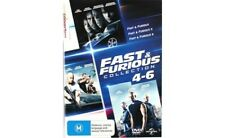 Fast And Furious 4 - 6 DVD Collection Movies R4