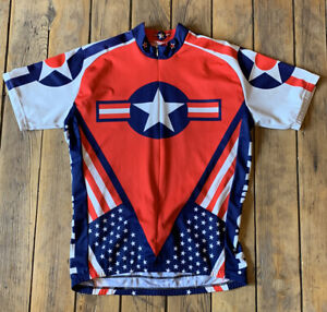 Team USA World Jerseys Cycling Jersey Shirt Size XXL Poly