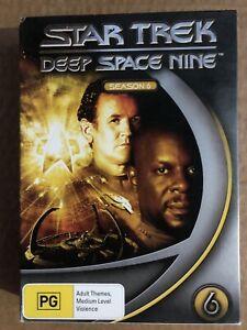 Star Trek Deep Space Nine DVD Box Sets Season 6 Region 4
