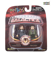 Battlestar Galactica Minimates Series 4 President Laura Roslin & Tom Zarek