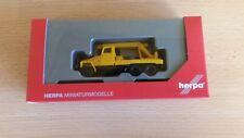 Herpa 308113 - 1/87 Ifa G5 Kranfahrzeug - Orange - Neu