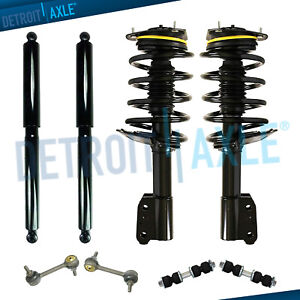 Maxorber Rear Set Shocks Struts Absorber Compatible with Buick Rendzvous 2002 2003 2004 2005 2006 2007 Shocks Struts 344438 39052 G63868