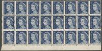 AUSTRALIA 1967  5c Blue Queen Elizabeth x 24 (ERROR), S.G No 386c MNH**